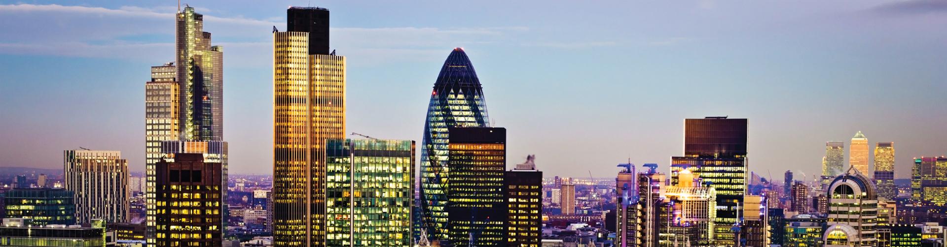 London Skyline Home Main Banner